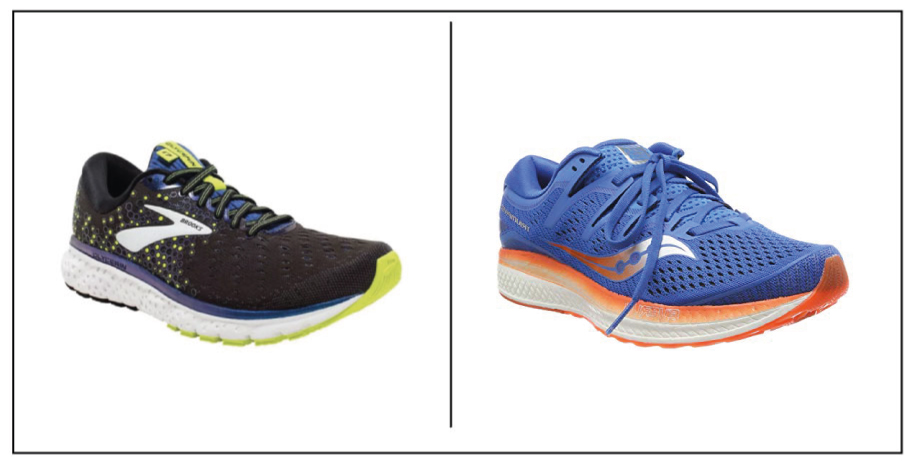 Saucony Triumph vs Brooks Glycerin
