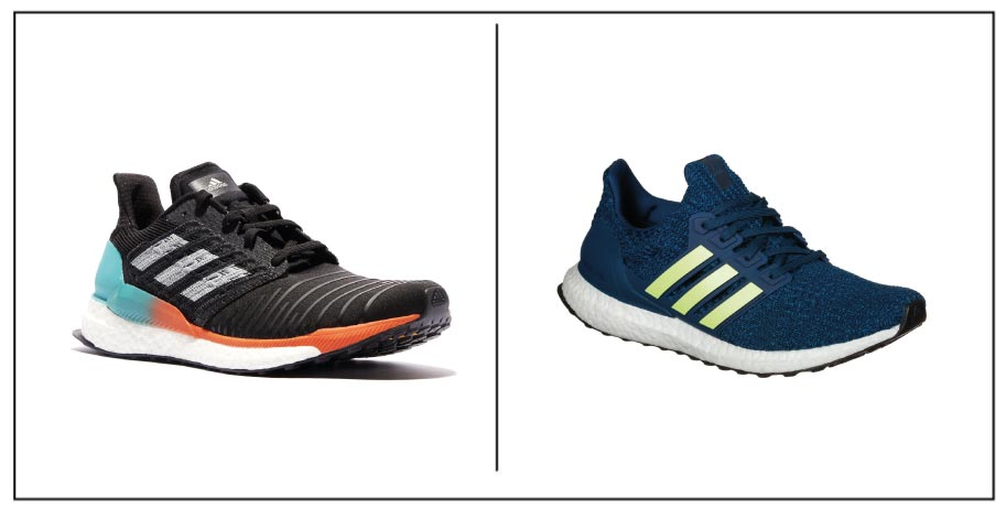 Adidas Solar Boost vs Ultra Boost