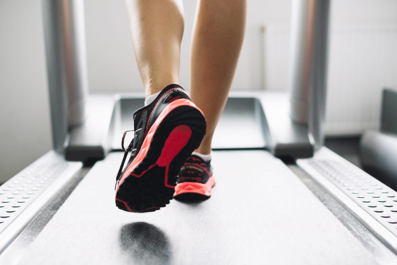 scarpe running per tapis roulant