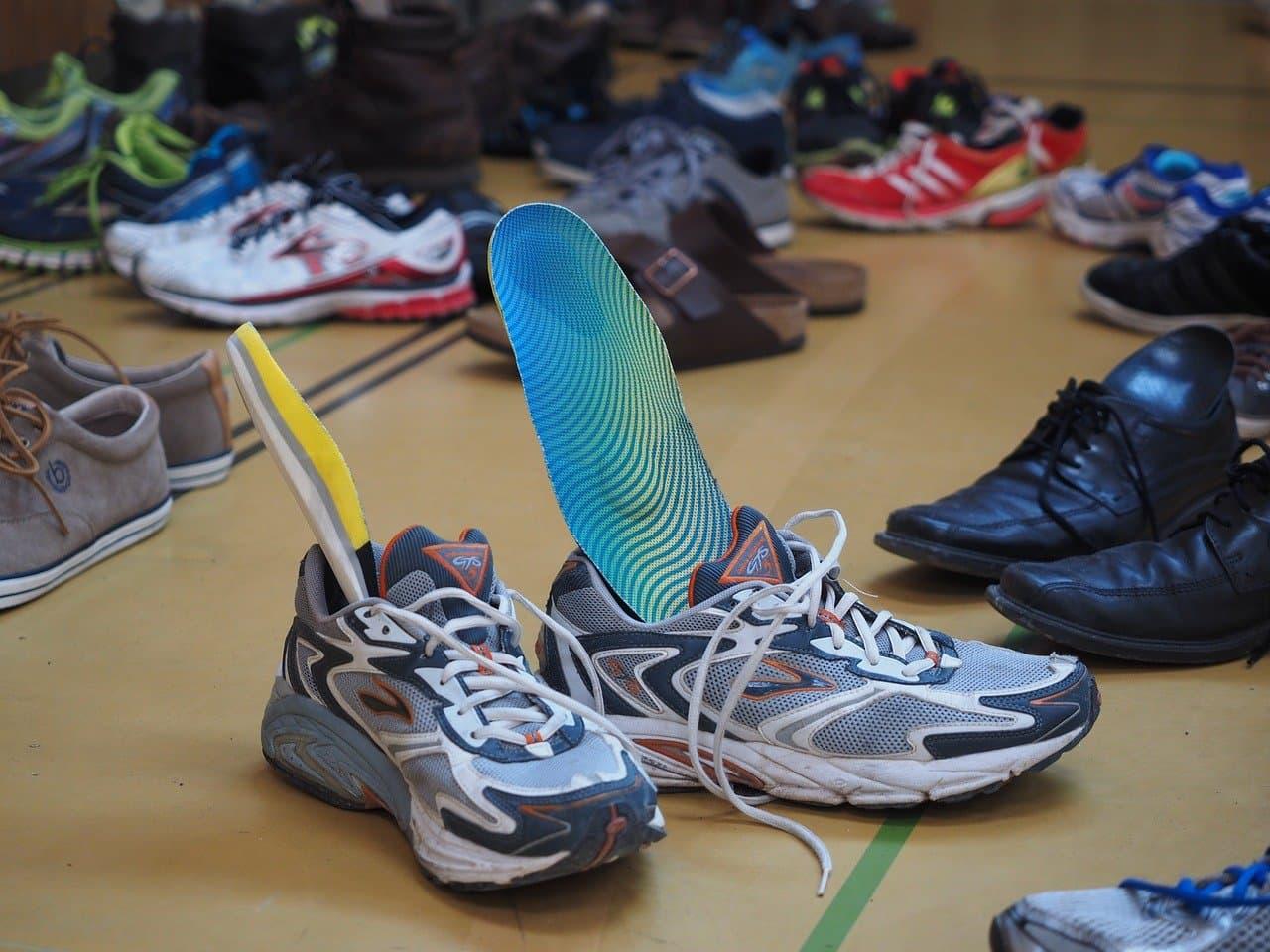 solette scarpe running